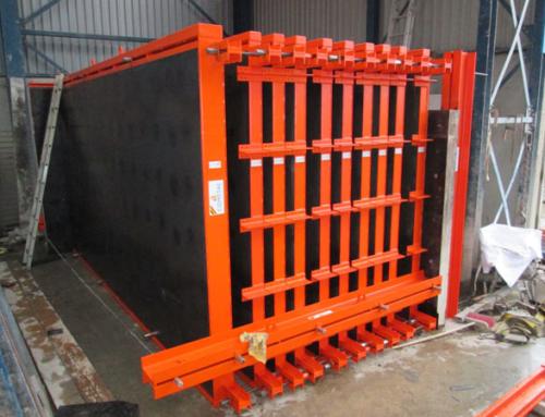 Tweedehands te koop: Mal voor prefab betonwanden bestaande uit wandpanelen